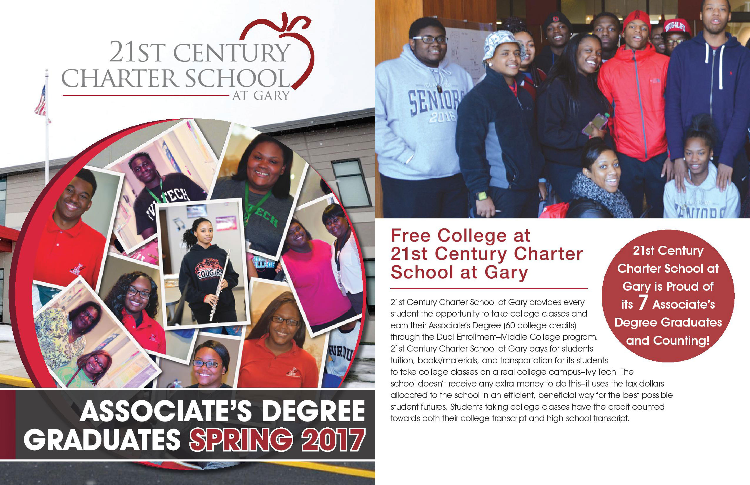 21st Century Charter School - Associate's Degree Graduates Spring 2017